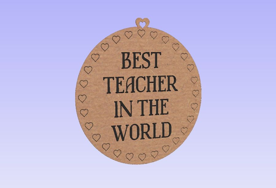 BEST TEACHER IN THE WORLD - Tag