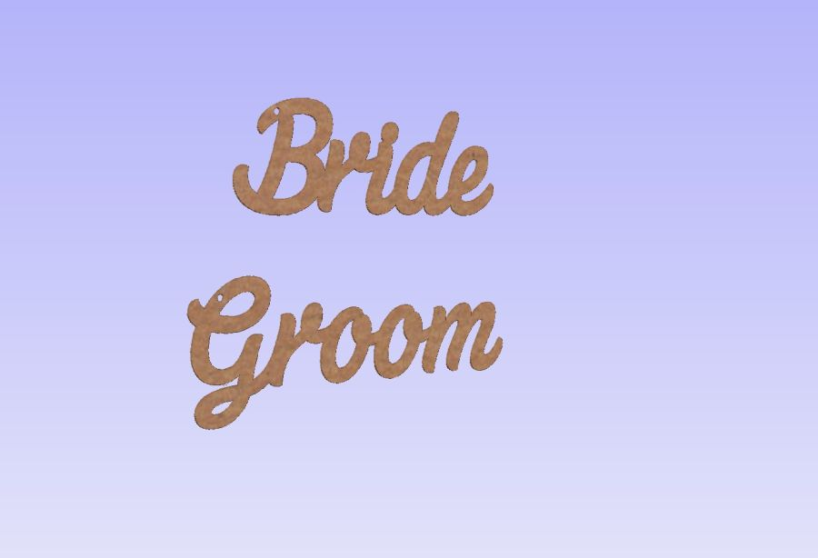 Wedding Place Names - Wedding Favours + Key Chains attached (Keyrings)