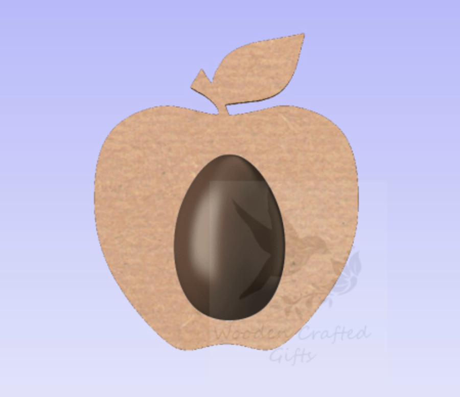 Plain Apple Shape Kinder Egg Holder