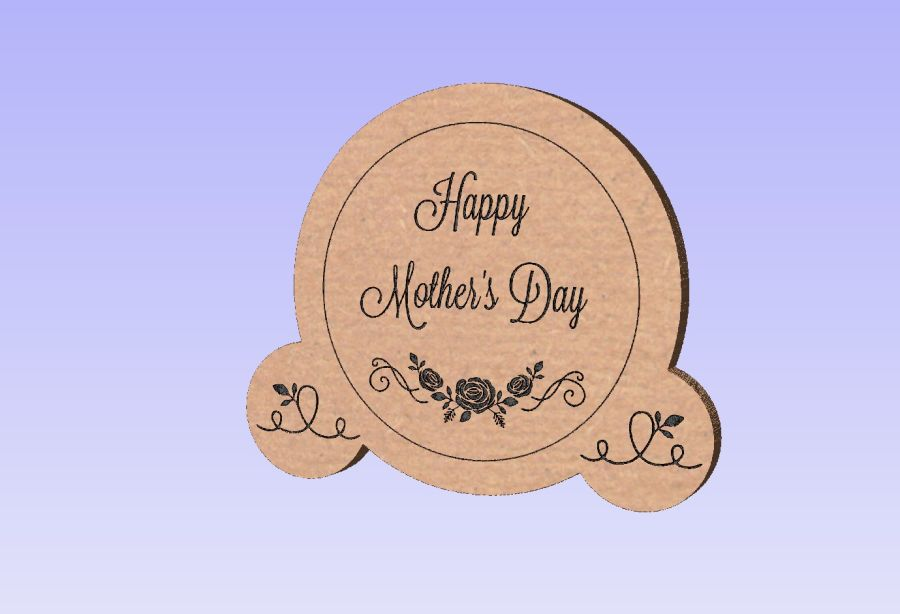 Freestanding Happy Mother's Day Ornament