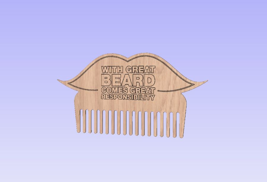 With great beard comes great responsibility - Combs