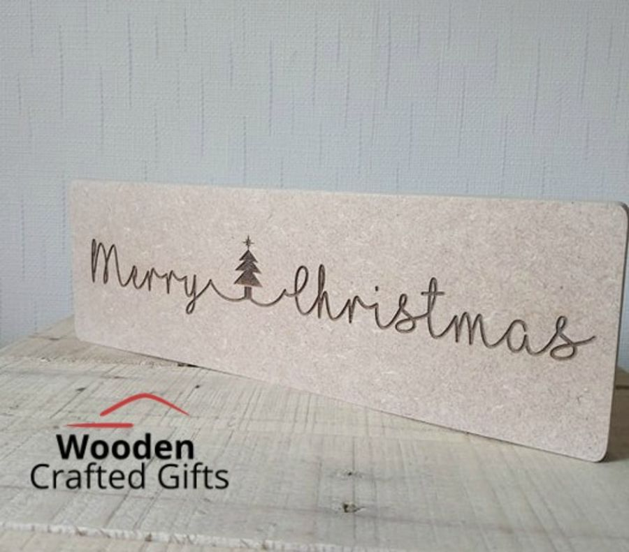Freestanding - Merry Christmas - Plaques