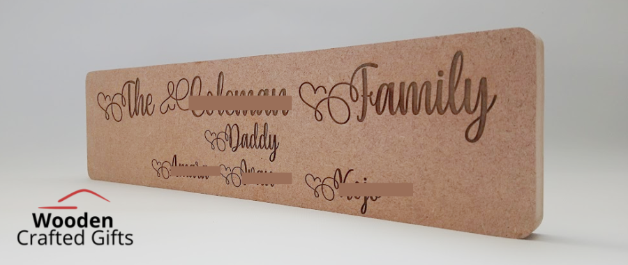 Freestanding - The Surname Family - With names