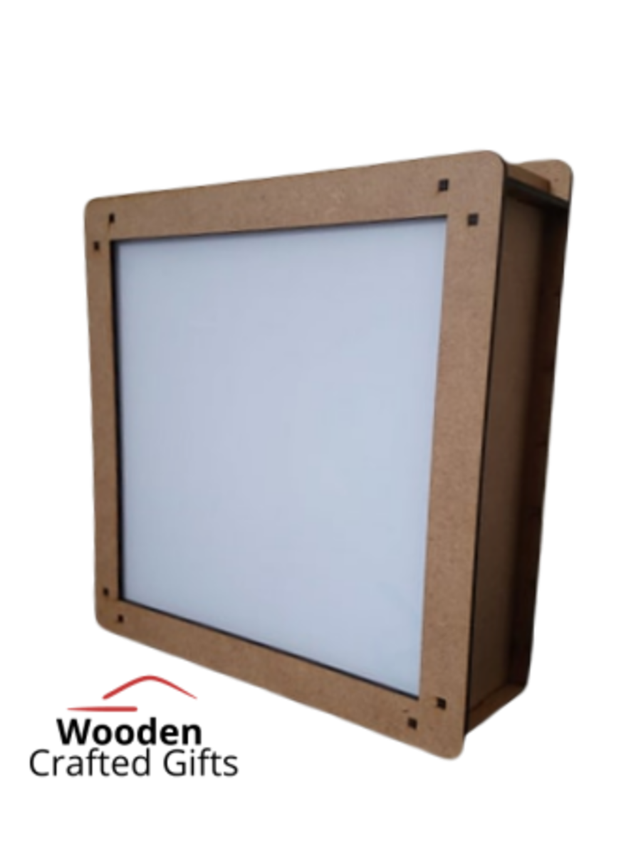 Box Frame - No acrylic front is included in this item