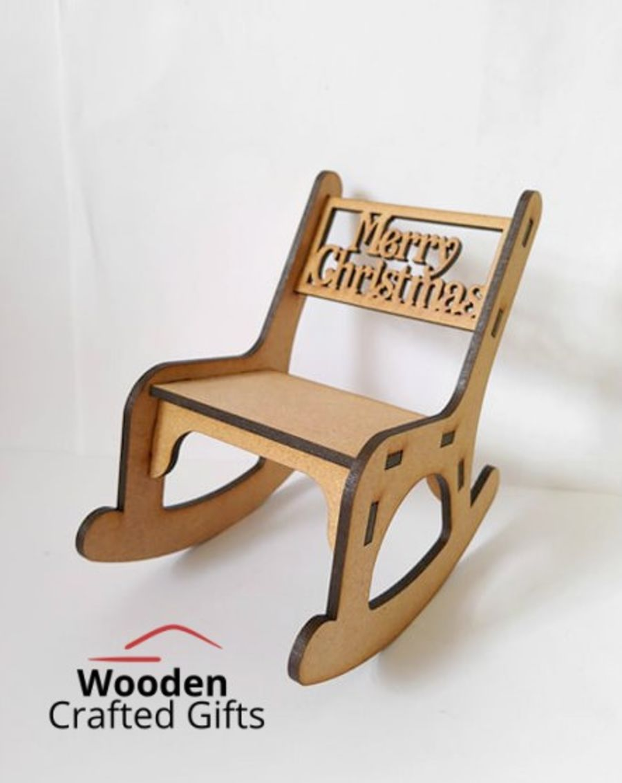 Merry Christmas Rocking Chair