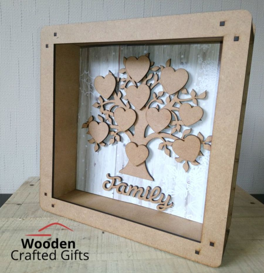 Box Frame Set - No acrylic front is included in this item