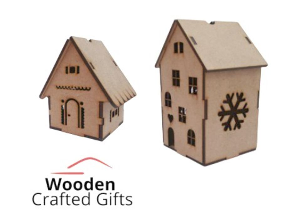 Freestanding 2mm Houses -Small - Large