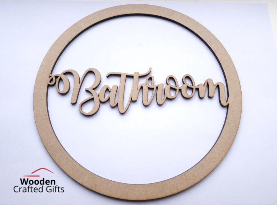 Personalised Script Hoops Please select size required for correct prices. 20cm - 58cm