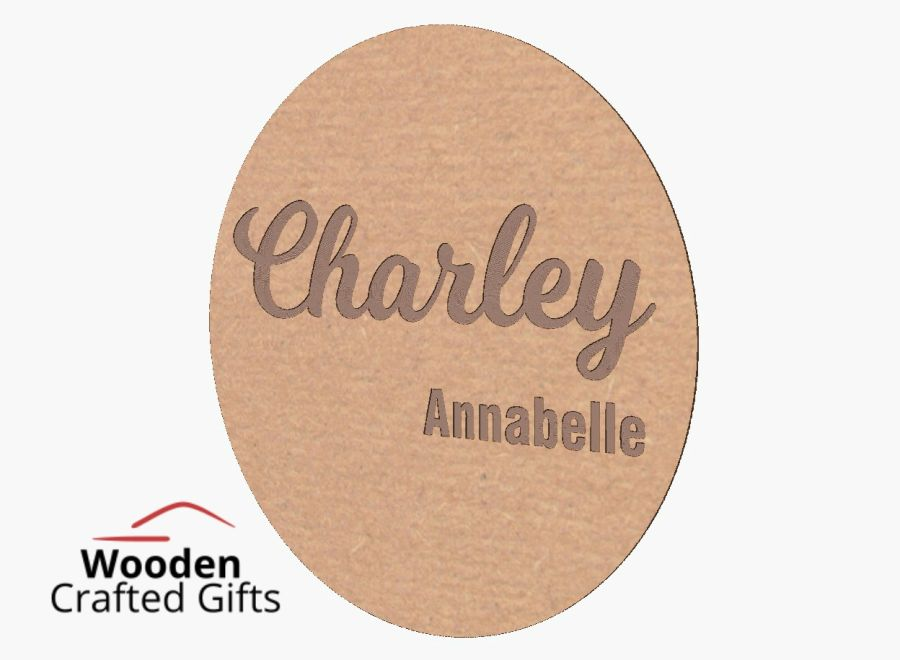 Personalised Circle Plaques