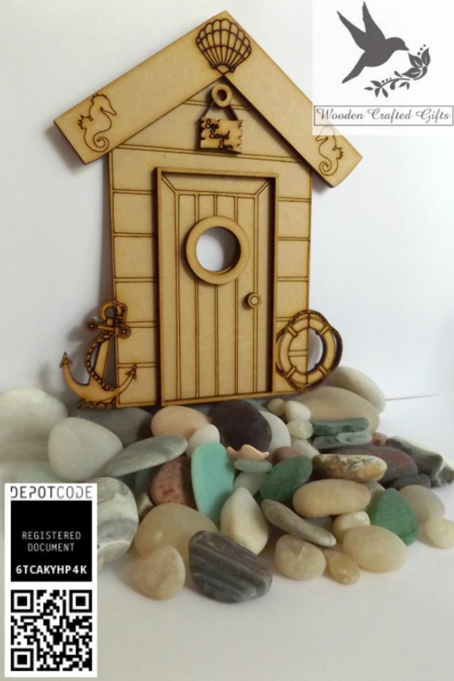Beach Hut With 3D Parts