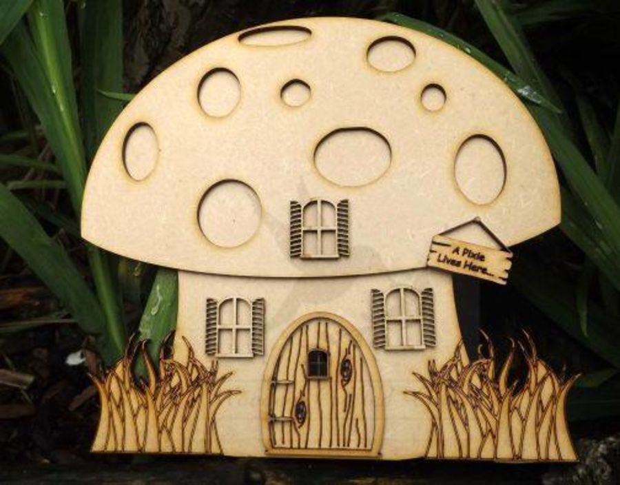 Pixie House With 3D Parts