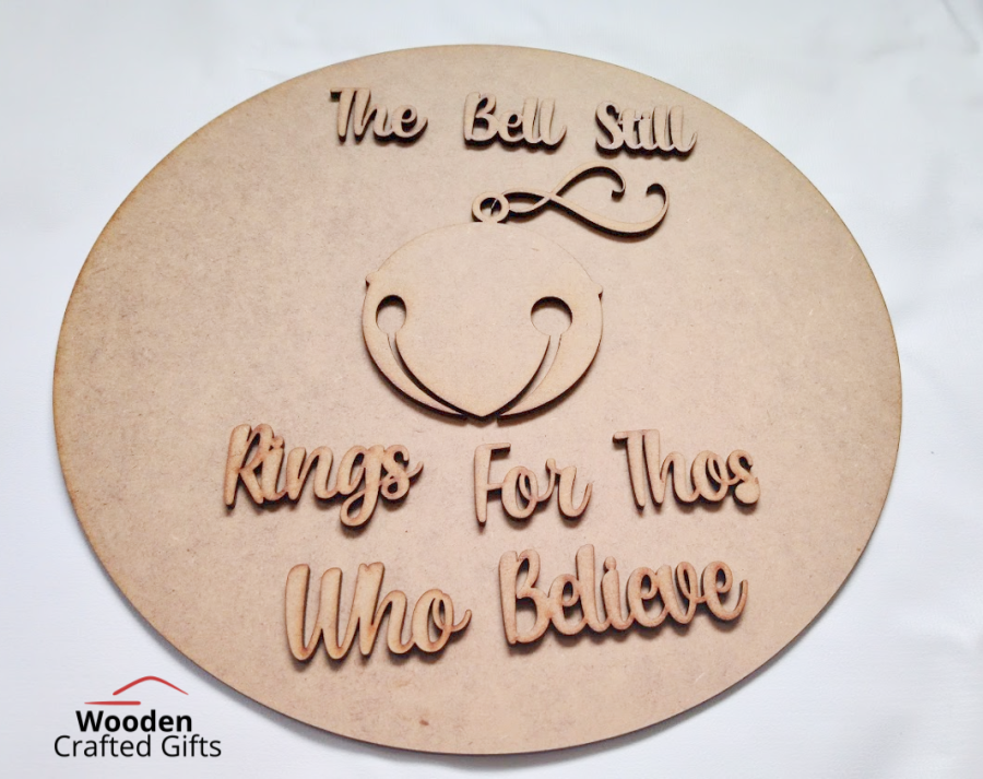 Circle Plaque - The Bell Still Rings For Those Who Believe