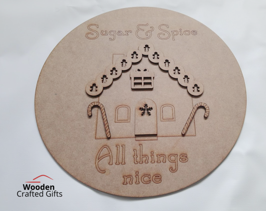 Sugar & Spice - All things nice Plaque