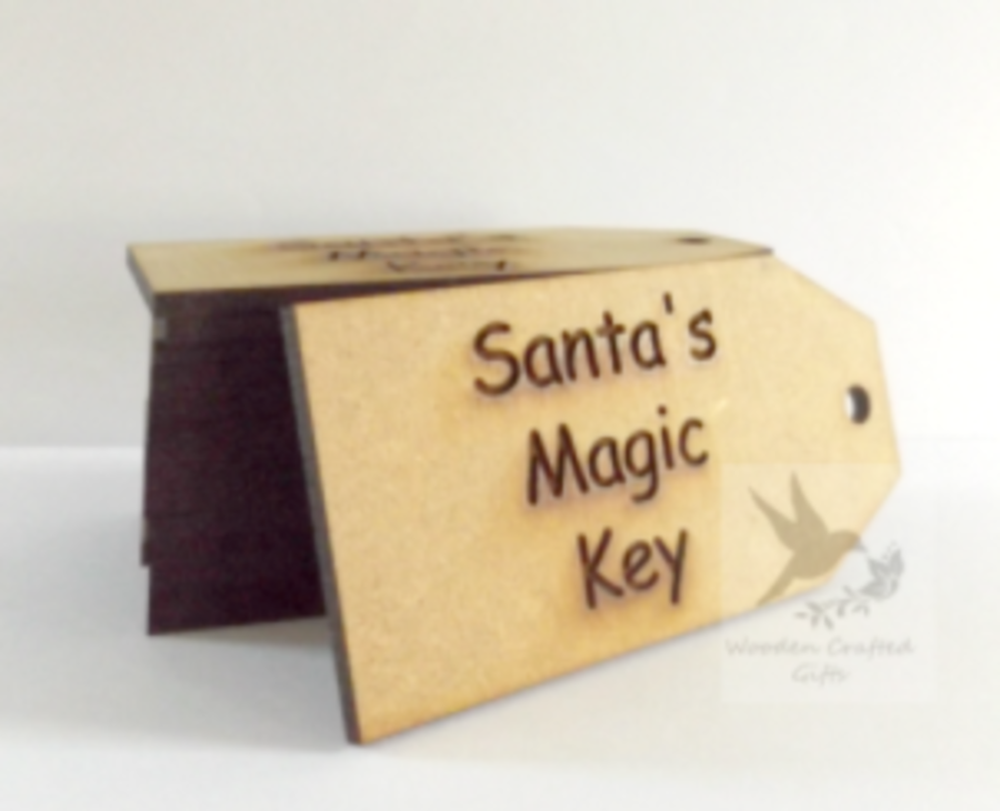 Santa's Magic Key Tag 4mm
