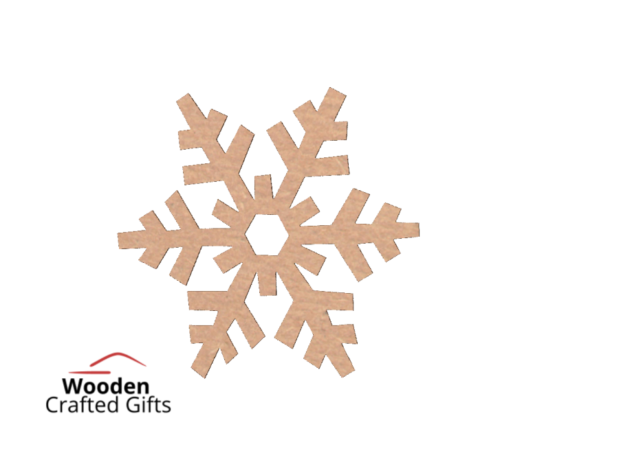 7cm Snowflake - With or Without Hole