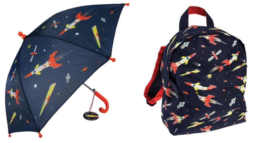 Busy Bee Bag and Umbrella Set