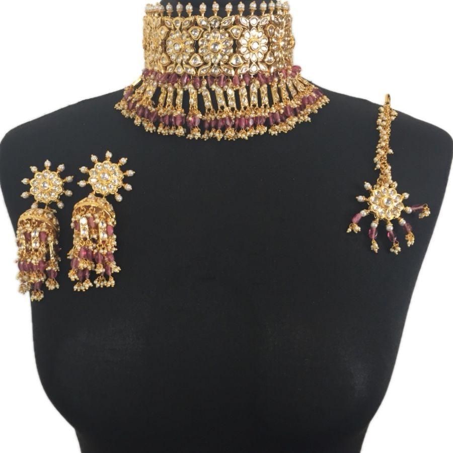 anushka asian bridal jewellery set BRD0337