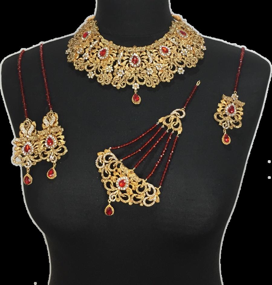pakistani bridal jewellery set BRD0351