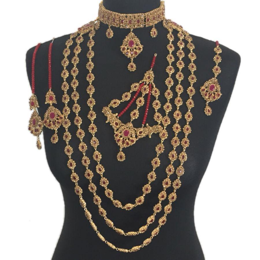 pakistani bridal jewellery set BRD0352