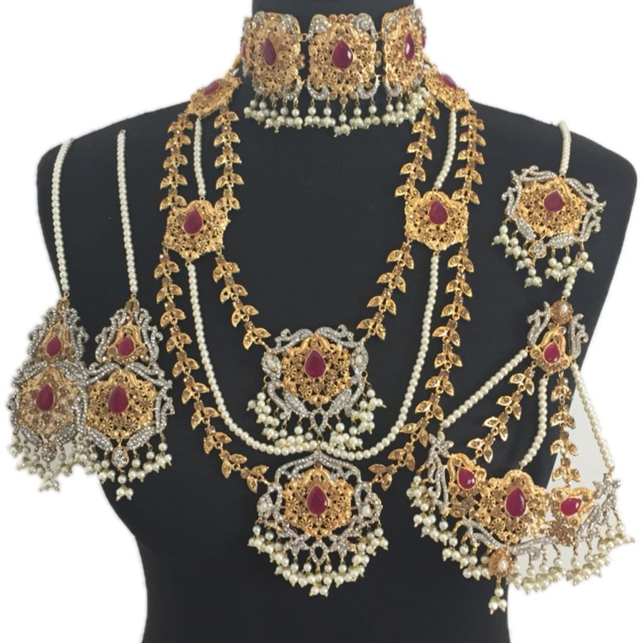 pakistani bridal jewellery set BRD0354