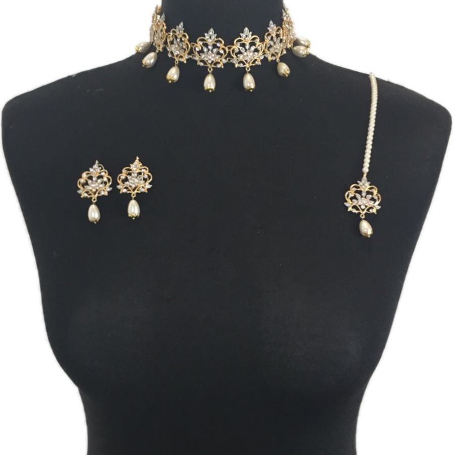 elegant asian choker set NCK0393