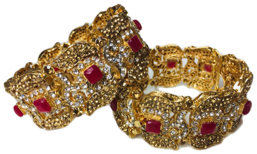 maroon pakistani karra bangle BNG0330