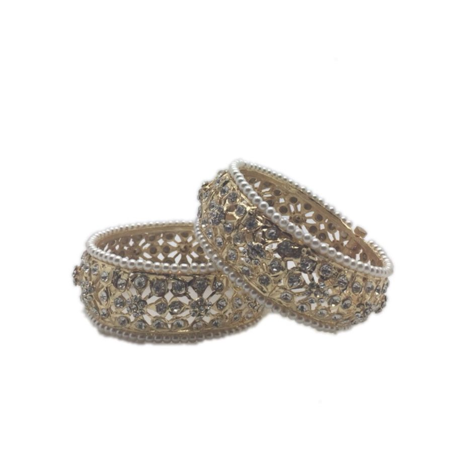 pearl pakistani karra bangle BNG0332