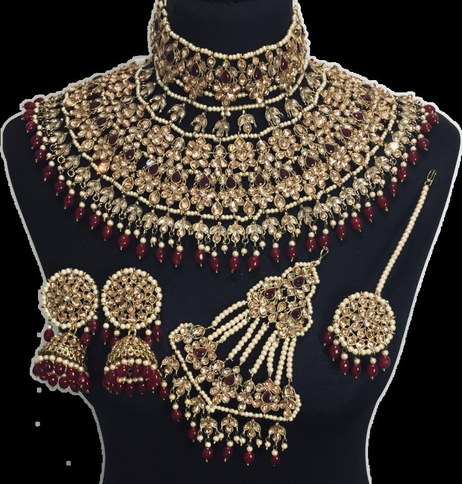 jodha akbar bridal jewellery set BRD0371