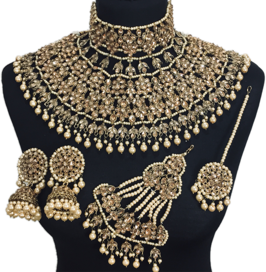 jodha akbar bridal jewellery set BRD0372
