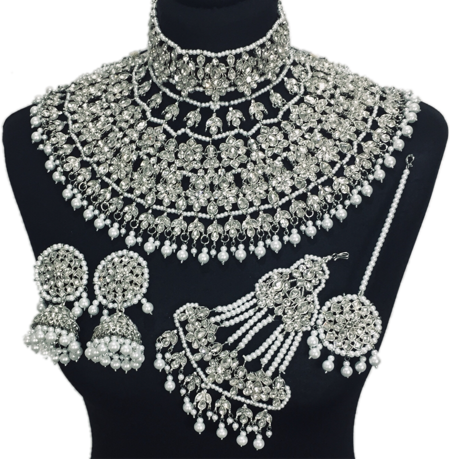 jodha akbar bridal jewellery set BRD0373