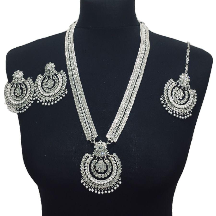 silver mala set NCK0451