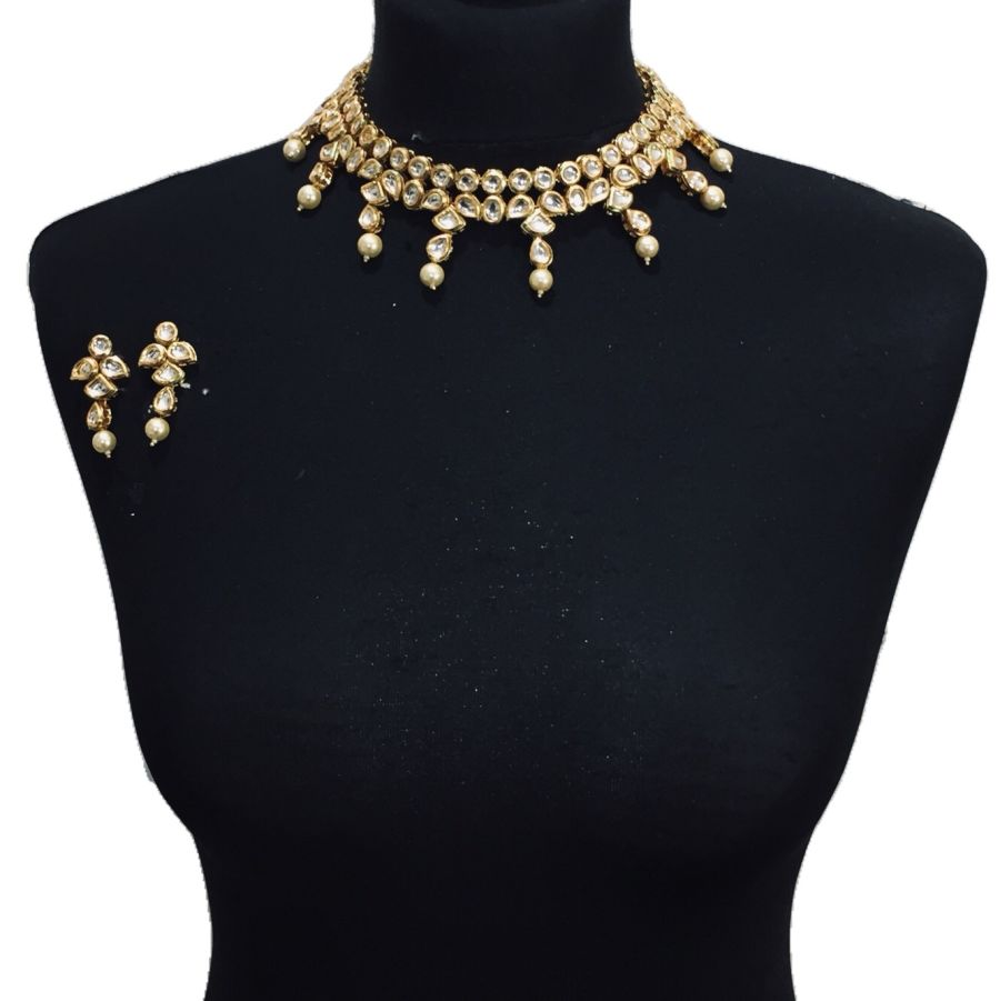 golden kundan set NCK0570