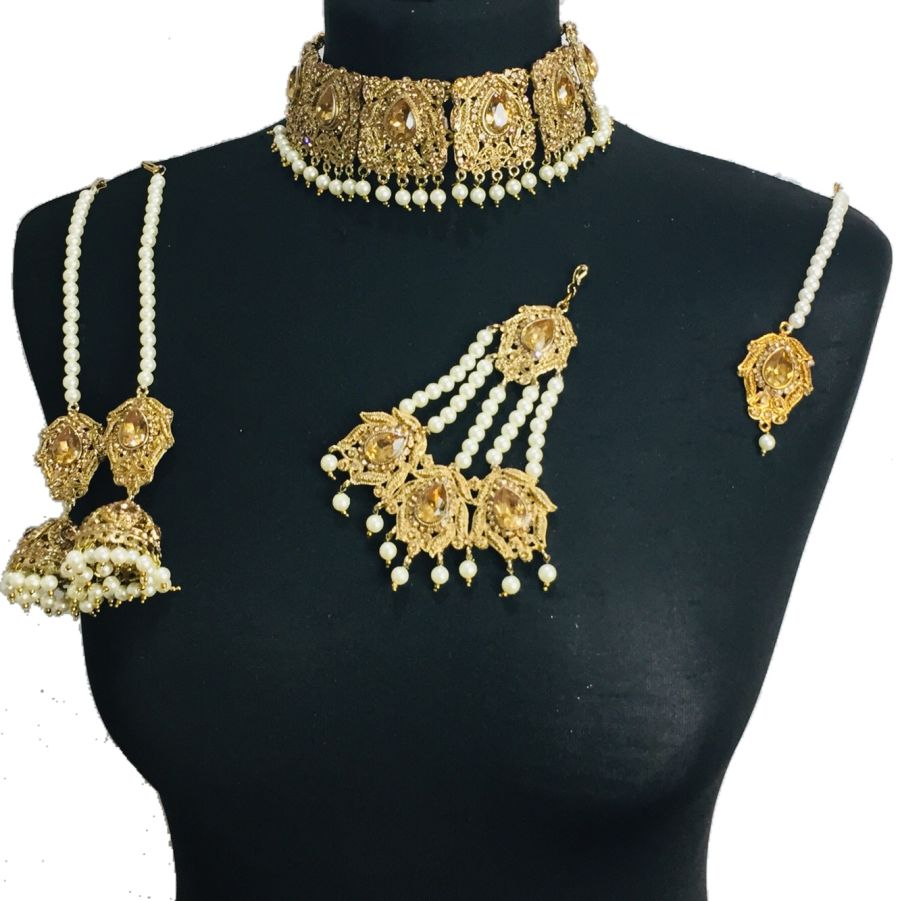 bridal choker set BRD0427