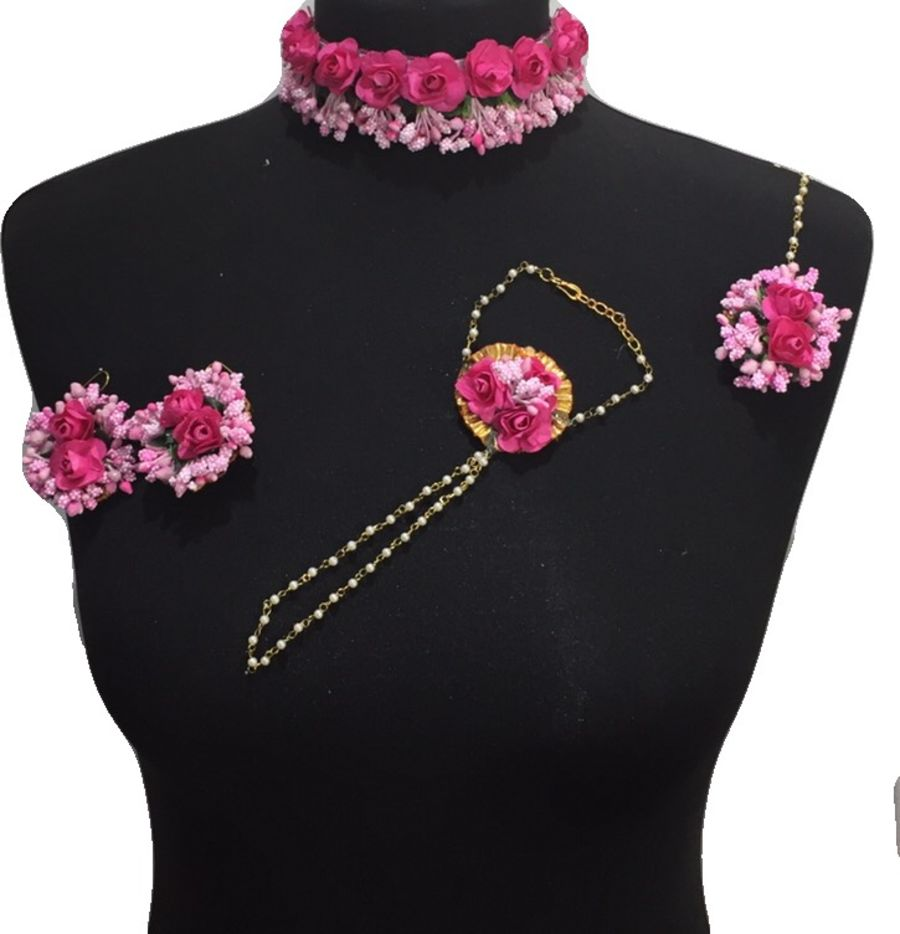 mehndi flower jewellery BRD0439