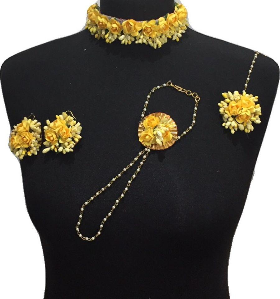 mehndi flower jewellery BRD0440