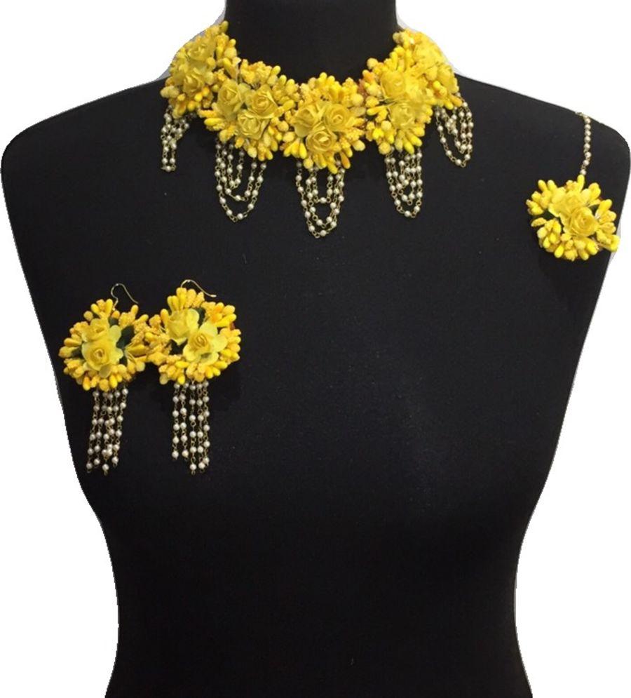 mehndi flower bridal jewellery BRD0441