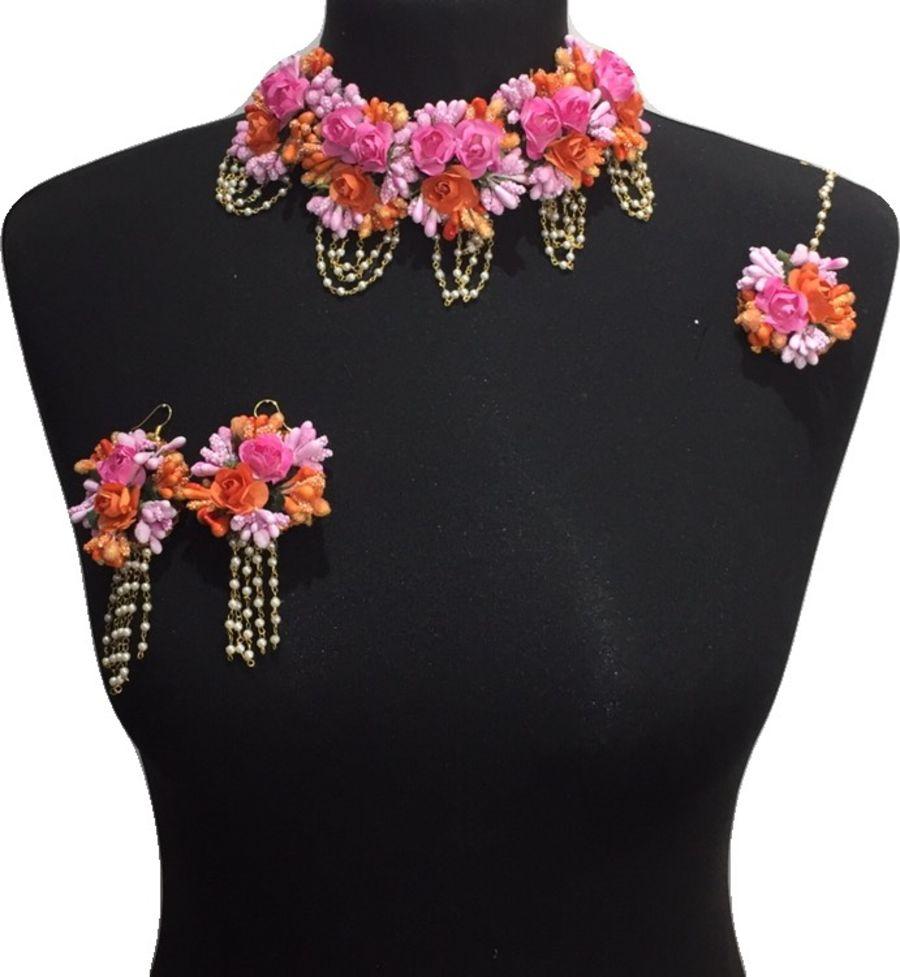 mehndi flower bridal jewellery BRD0444