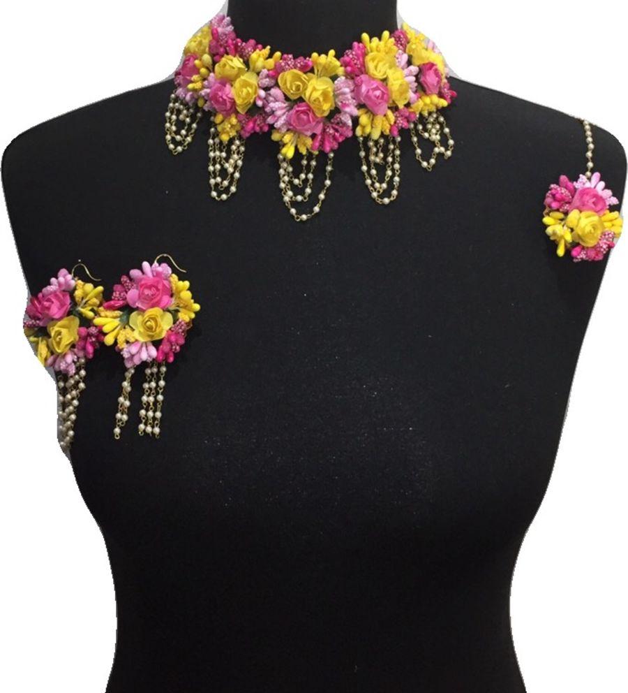 mehndi flower bridal jewellery BRD0445