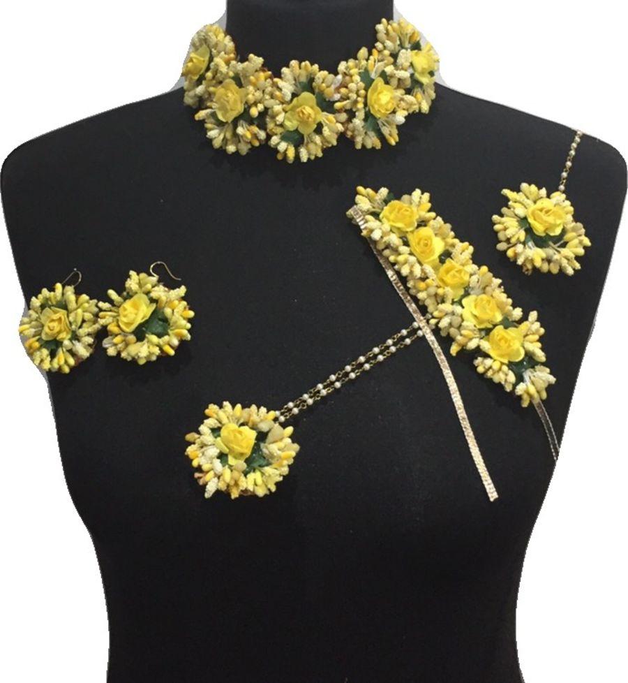 mehndi flower bridal jewellery BRD0454
