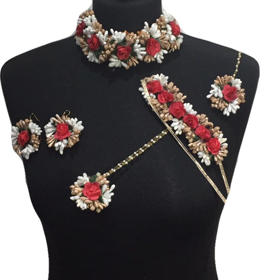 mehndi flower bridal jewellery BRD0455