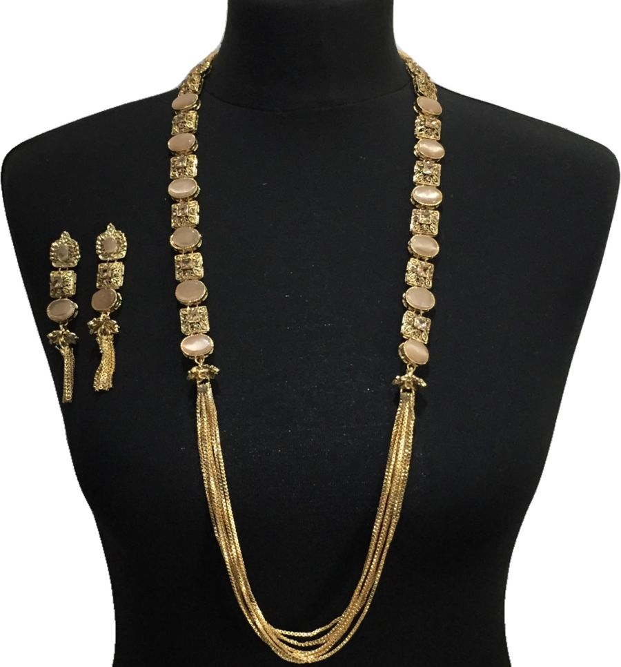 nude mala jewellery set NCK0632
