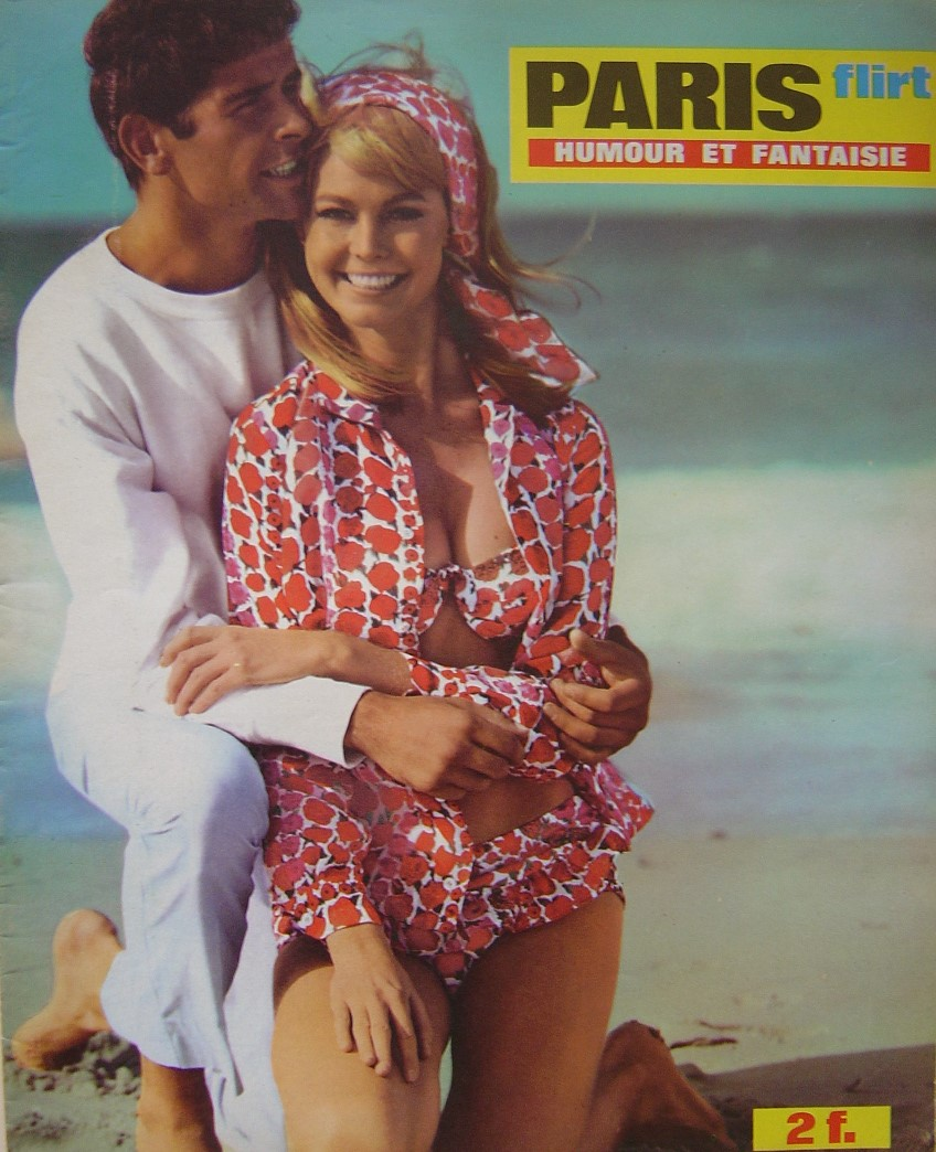 PARIS FLIRT 645. 1969 FRENCH MAGAZINE.