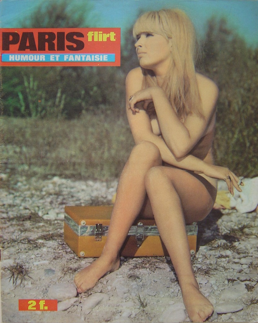PARIS FLIRT 654. 1969 FRENCH MAGAZINE.