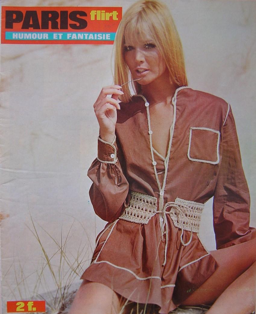 PARIS FLIRT 705. 1970 FRENCH MAGAZINE.