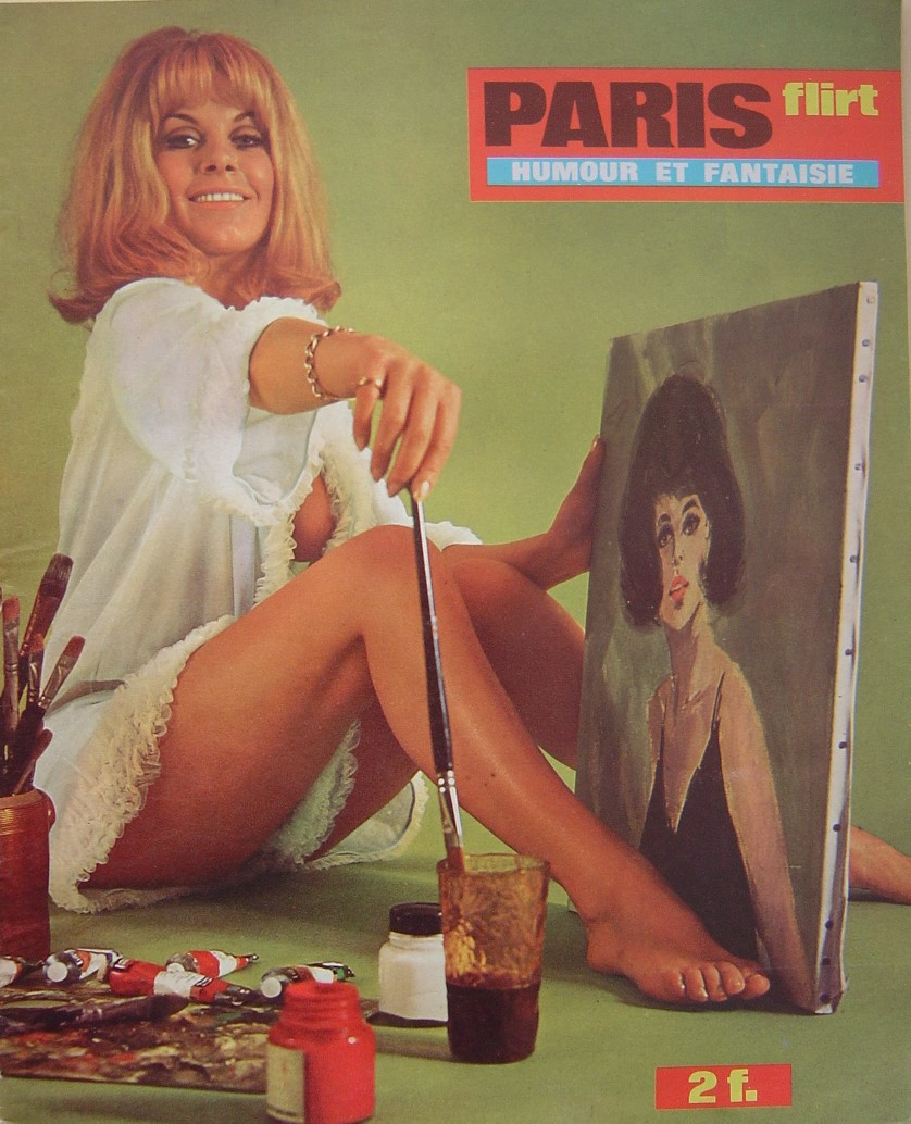 PARIS FLIRT 611. 1968 FRENCH MAGAZINE.