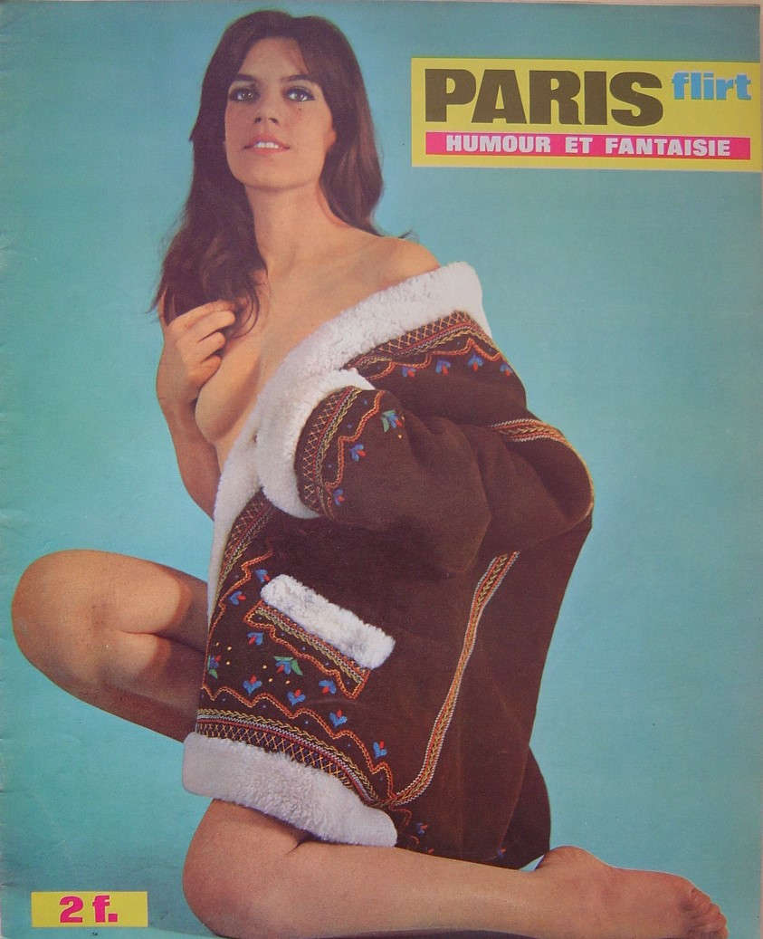 PARIS FLIRT 625. 1969 FRENCH MAGAZINE.