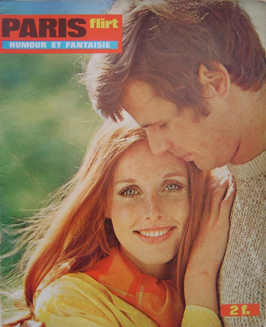 PARIS FLIRT 709. 1970 FRENCH MAGAZINE.