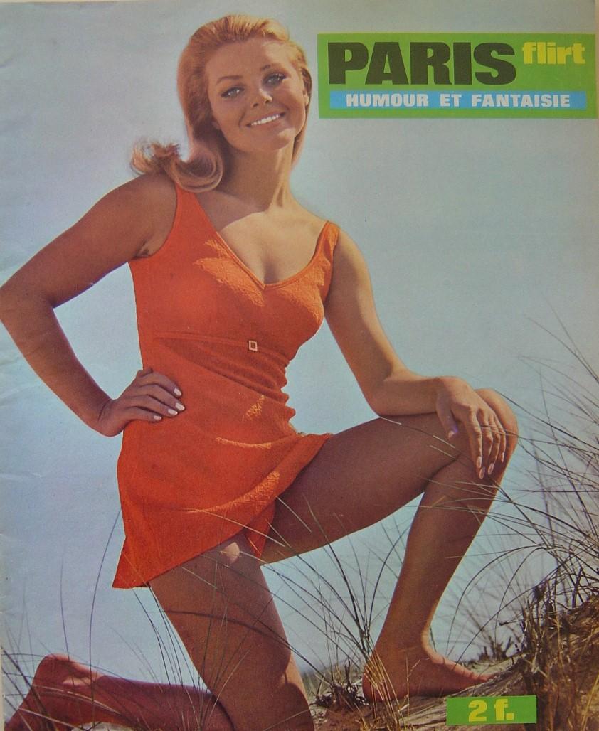 PARIS FLIRT 646. 1969 FRENCH MAGAZINE.