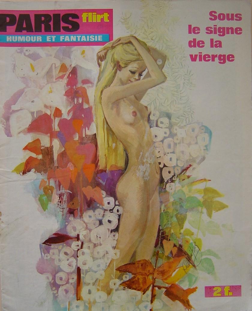 PARIS FLIRT 706. 1970 FRENCH MAGAZINE.