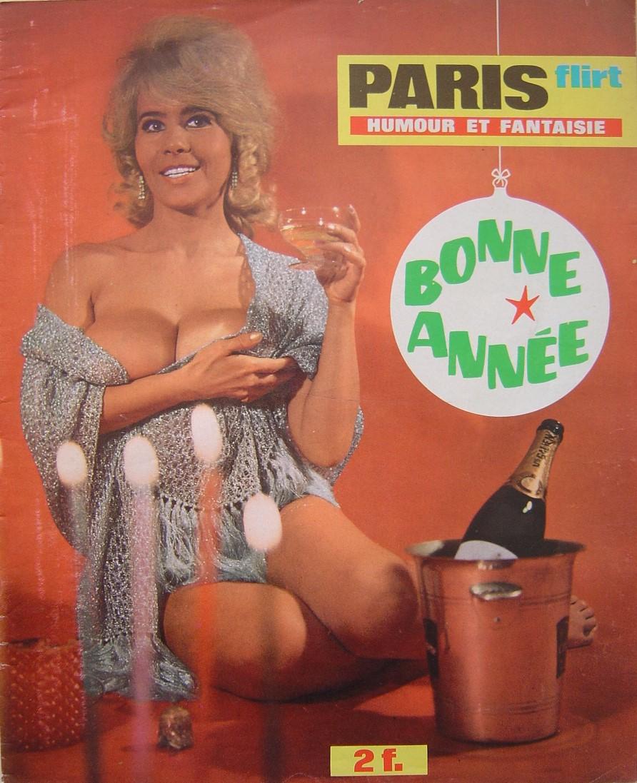 PARIS FLIRT 620.  1969 FRENCH MAGAZINE.